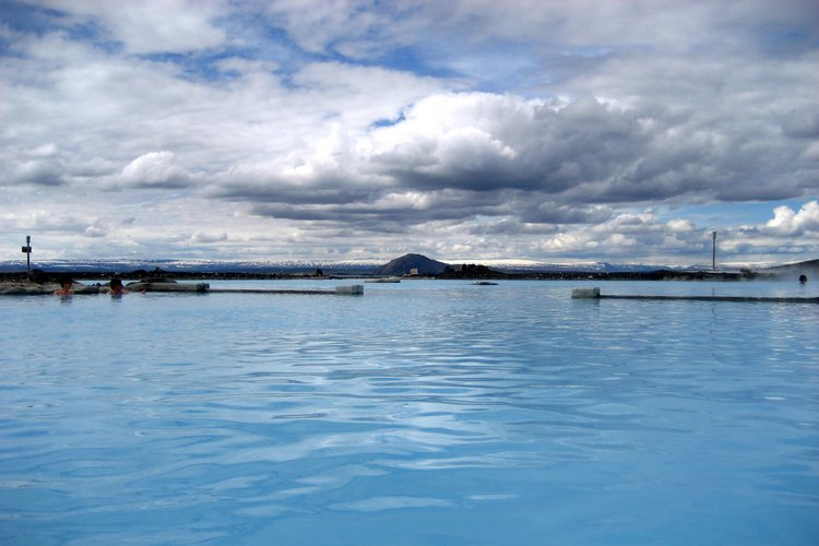 Bains thermaux - Myvatn - Islande