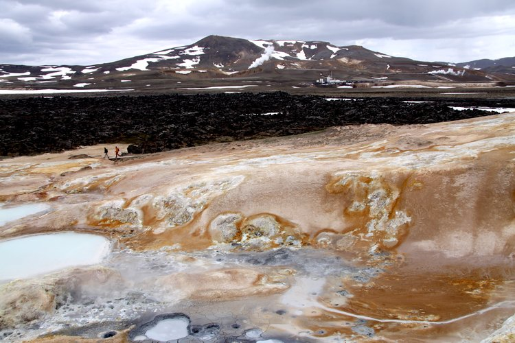 Zone volcanique active - Krafla - Islande
